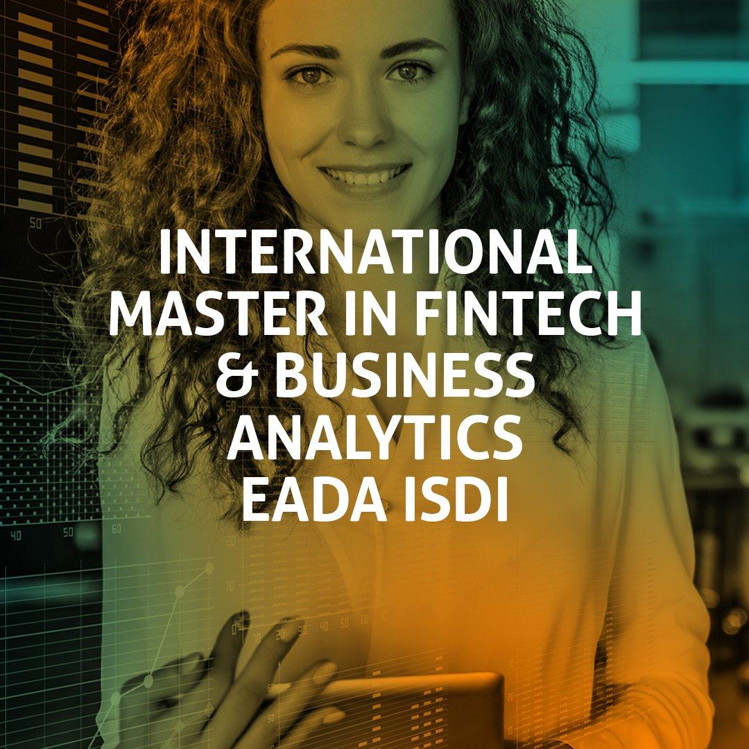 Master in FinTech and Business Analytics EADA - ISDI
