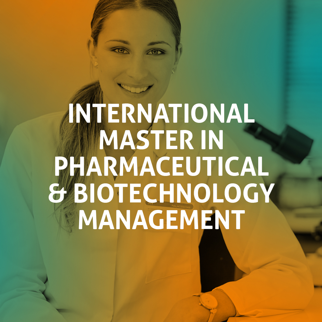 International Master in Pharmaceutical and  Biotechnology Managament