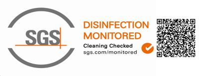 Sello Desinfection Monitored SGS